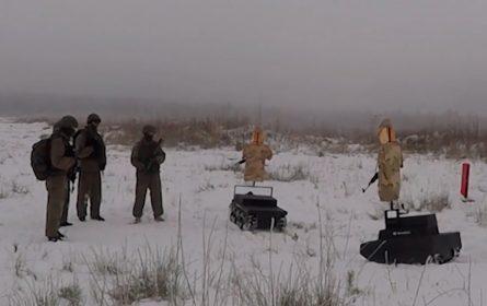 Ruska vojska testirala nove mete – roboti koje se kreću na gusjenicama
