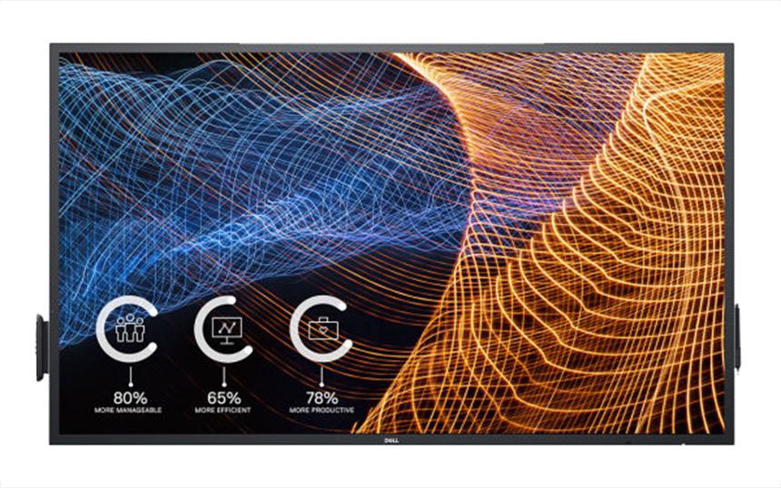 Dell 65-inčni (model C6522QT) interaktivni touch monitor
