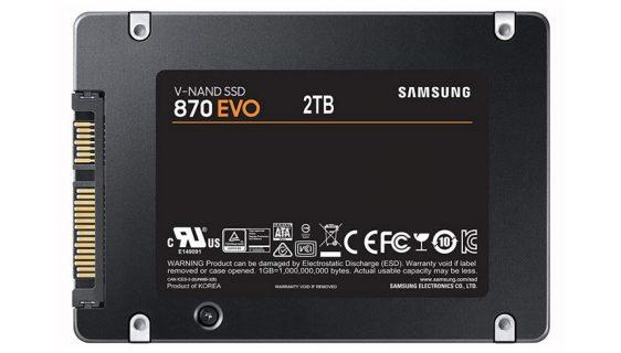 Samsung lansirao EVO 870 SSD diskove kapaciteta do 4TB