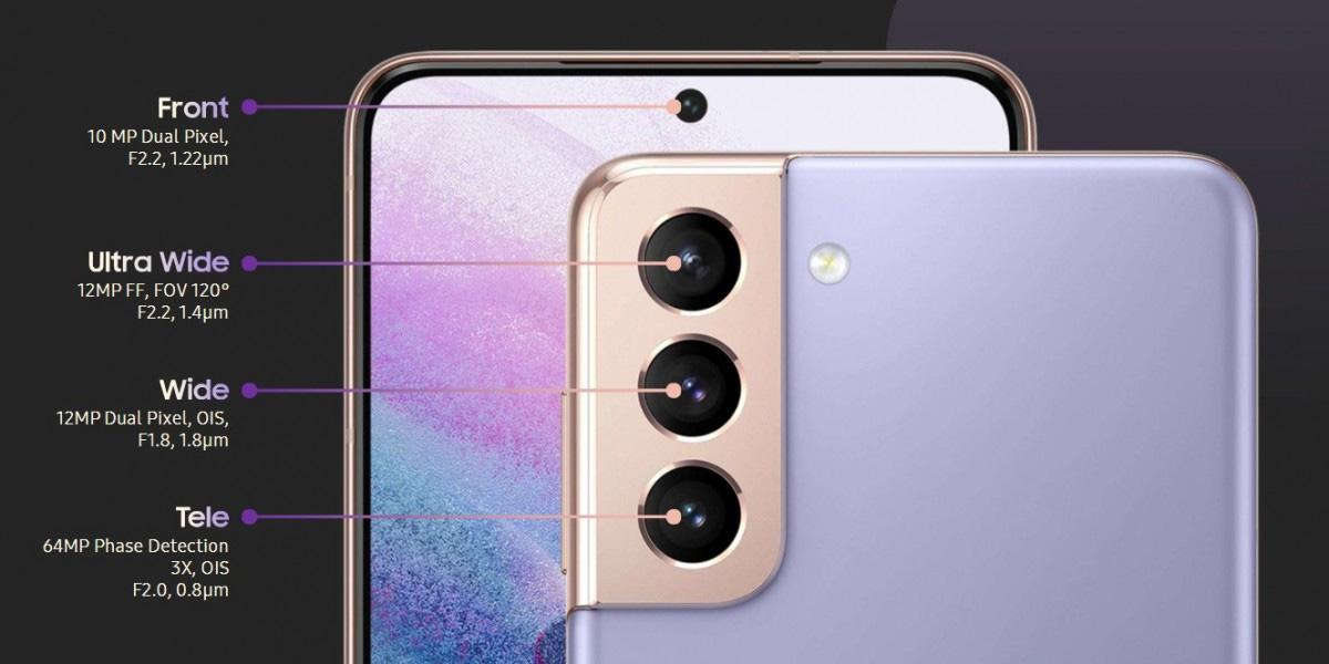 Kamere Samsung galaxy S21+