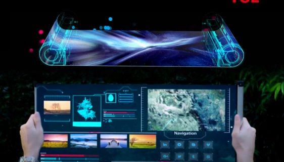 TCL na CES 2021 predstavio Wearable i Scrolling ekrane