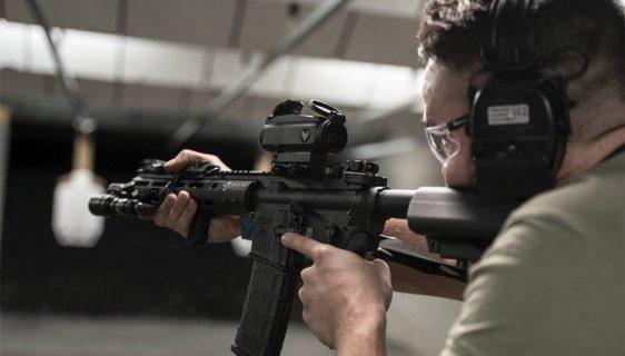Prizmatični nišan Blade 1x za strelce sa poremećajem vida