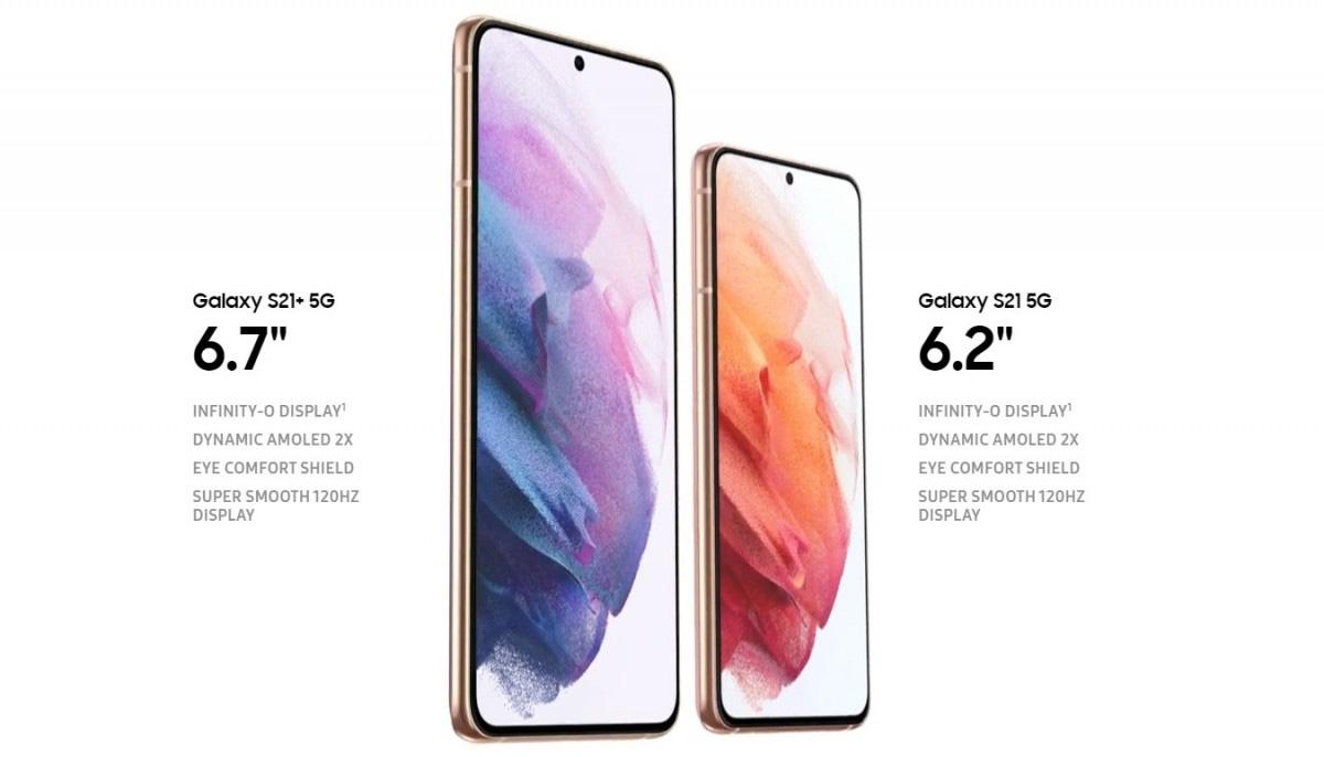 Samsung Galaxy S21+ i S21