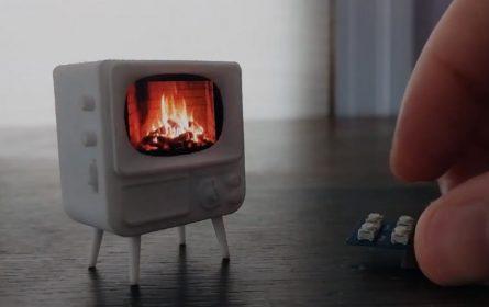 TinyTV - minijaturan televizor za one koji malo gledaju televiziju