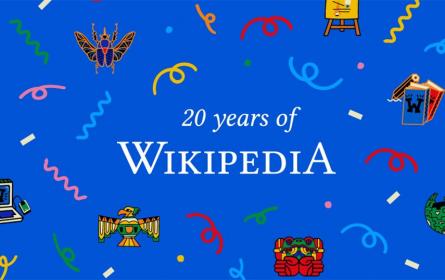 Wikipedija proslavlja 20 godina postojanja