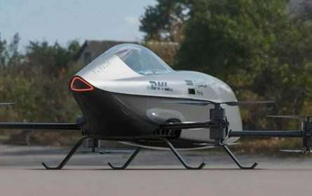 Stiže nam Airspeeder Mk3, električni leteći automobil