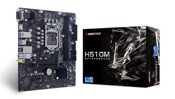 Biostar objavio dvije matične ploče MicroATX zasnovane na Intel H510 čipsetu