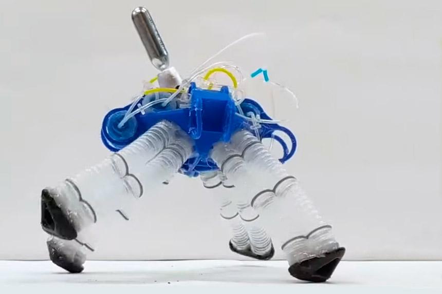 Naučnici iz San Dijega razvili soft robota bez elektronskih komponenti