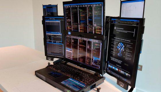Predstavljena Aurora 7, laptop sa 7 monitora