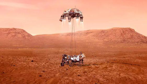 """""""Sedam minuta užasa"""" slijeće u krater Jezero na Marsu"""