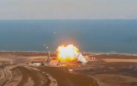 Eksplodirao još jedan prototip rakete SpaceX SN 9 prilikom slijetanja | video