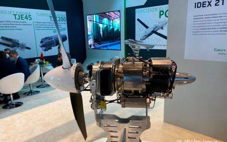 Srpski GPTS predstavio turbomlazne i turboprop motore na sajmu IDEX 2021