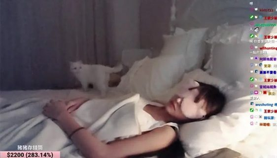 Strimala se dok spava i zaradila 3.000 dolara na donacijama