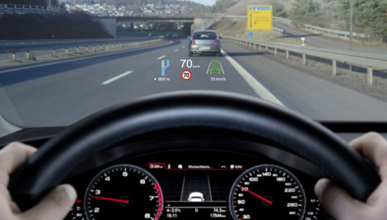 Audi Q4 e-tron sa proširenom stvarnosti na vjetrobranu