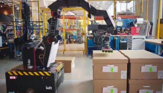 "Boston Dynamics predstavio ""Strech"" robota za rad u skladištu"