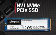 Kingston najavio NV1 NVMe PCIe SSD disk