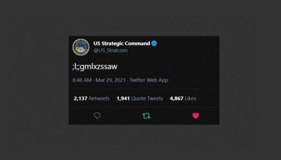 Misterioznog tvit američke Strateške komande izazvao veliku zabrinutost