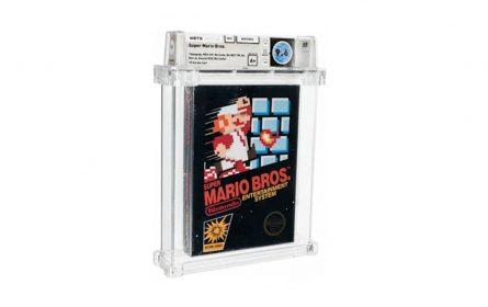 Zapečaćena kopija igre Super Mario Bros prodata za 660.000 dolara