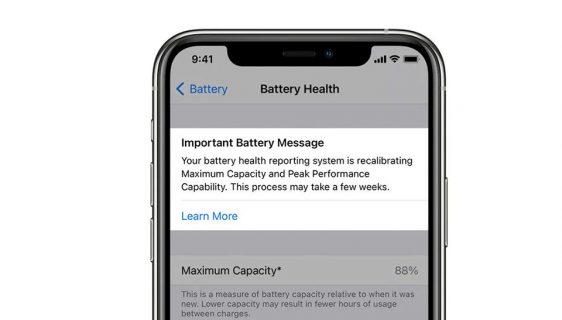 iOS 14.5 ažuriranje uvodi alat za rekalibraciju baterije